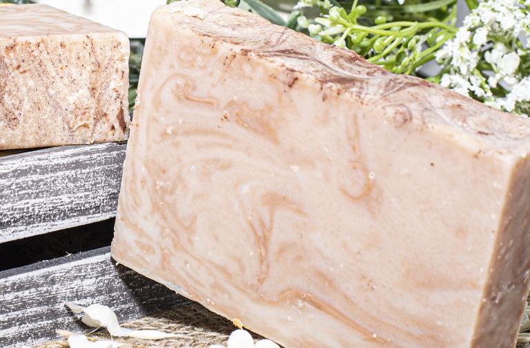 art of soap Oatmeal scented cbd soap product premium cannabinoid soap