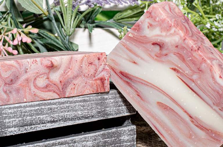 art of soaps red rum all natural bar soap