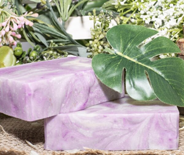 art of soap Lavander scented cbd soap product premium cannabinoid soap Image 2