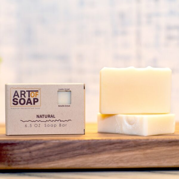 natural organic unscented soap bars from art of soap