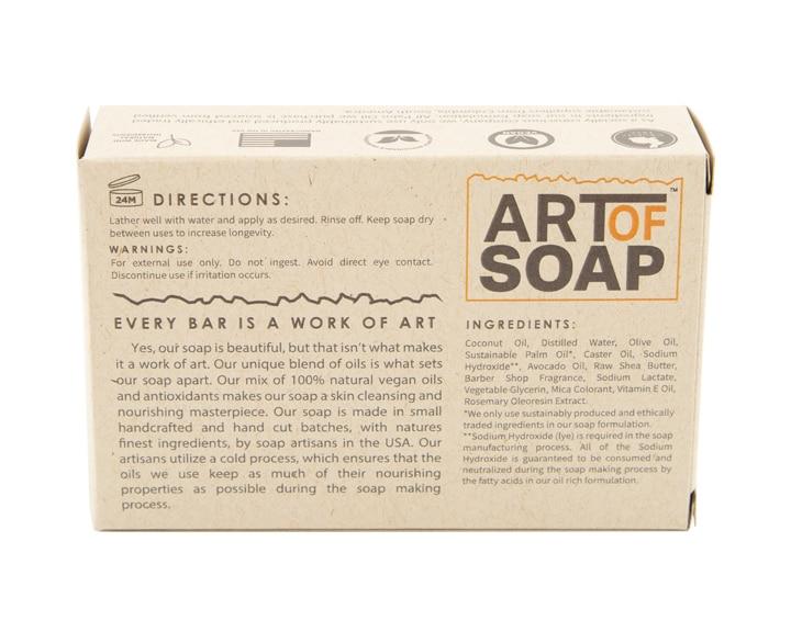 Art of Soap Handcraft Barber Shop Soap Bar Premium Ingredients