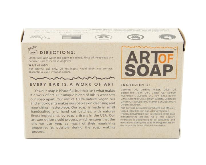 Art of Soap Handcraft Citrus Soap Bar Premium Ingredients