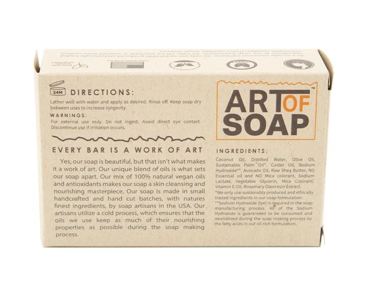 Art of Soap Handcraft Unscented Soap Bar Premium Ingredients